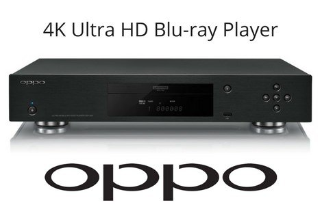 OPPO 4K Ultra HD Bluray Player