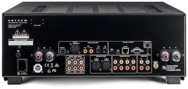 STR Integrated Amplifier Rear