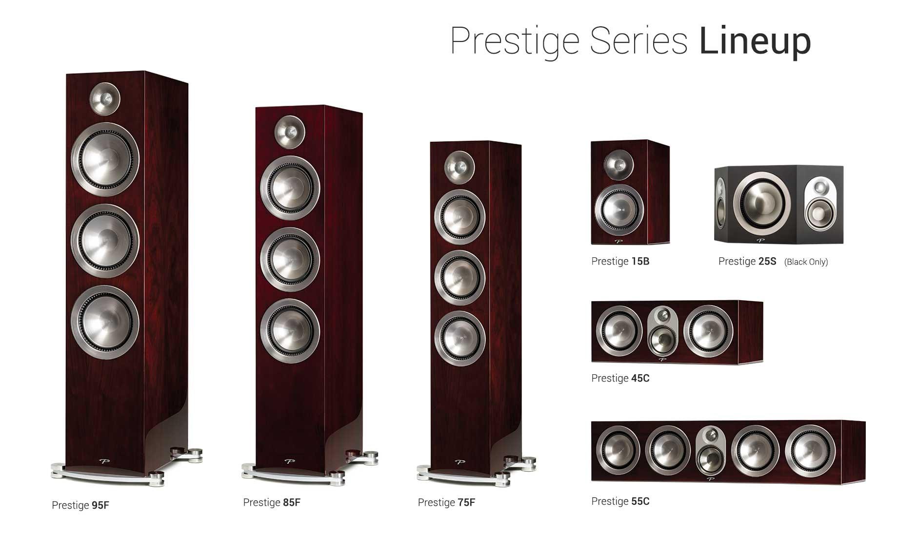 Paradigm Prestige Series Lineup Midnight Cherry