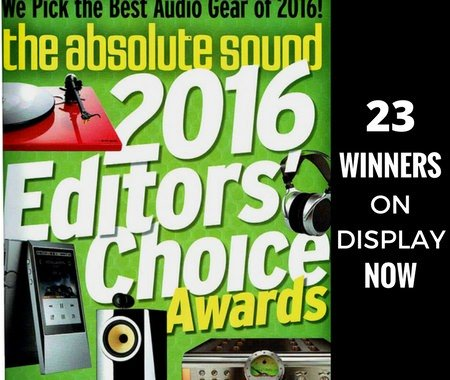 The Absolute Sound Editors Choice Awards 2016